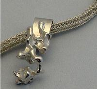 Viking Knit with Garbanzo bean pendant - 3824